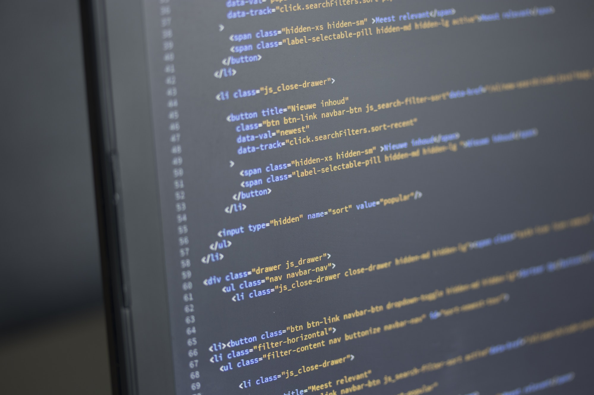 Website Development Programming